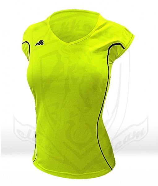 camiseta verde chica